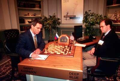 el hombre vs la maquina El duelo de ajedrez más espectacular de la historia