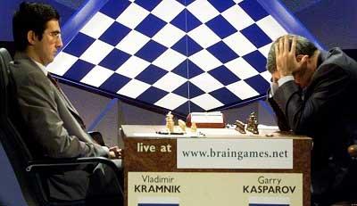 Kramnik vs Kasparov campeonato mundial de ajedrez 2000