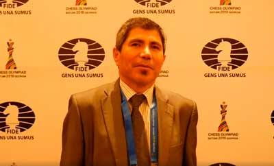 Julio Granda vicepresidente FIDE