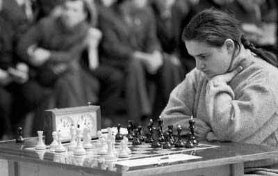 Maia Chiburdanidze una de las mejores jugadora de ajedrez de todos los tiempos