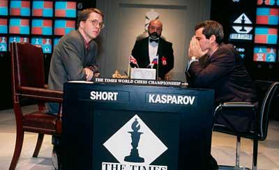 Nigel Short vs garry kasparov