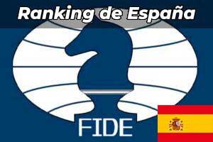 Los mejores jugadores de Ajedrez de España