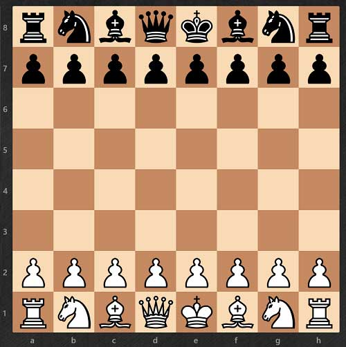 Cómo aprender a jugar al ajedrez - Tablero-armado