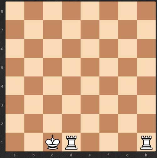 enroque-largo-reglas de ajedrez