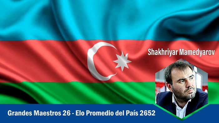 Azerbaiyán los Países más fuertes en ajedrez