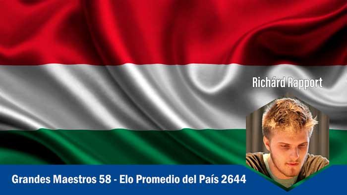 Hungria los Países más fuertes en ajedrez