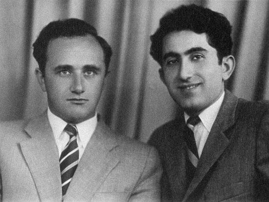 Geller y Petrosian principios de la década de 1950.