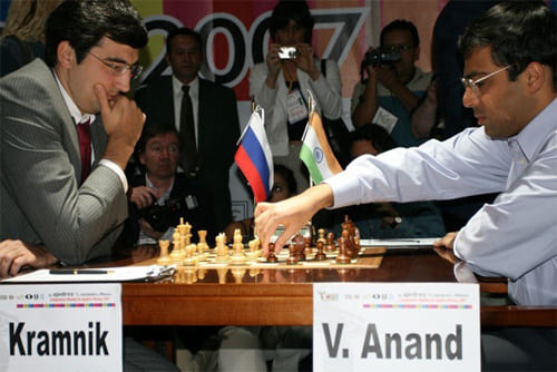 anand vs kramnik world championship 2008